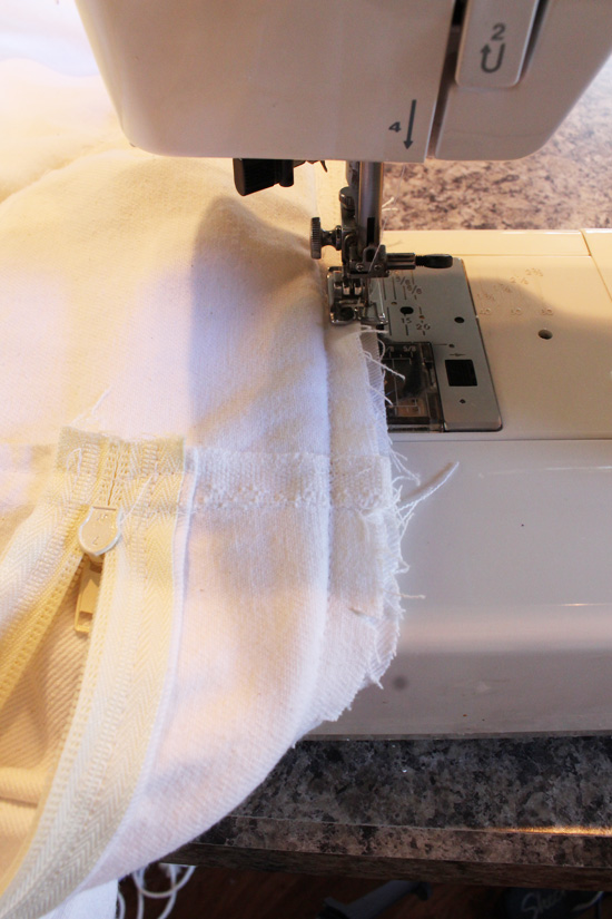 Don't forget to seal the seams to prevent the eges from fraying.