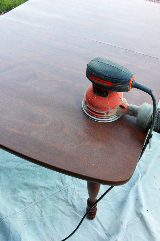 Elegant How To Paint A Laminate Kitchen Table From Confessions Of A Serial Do It
