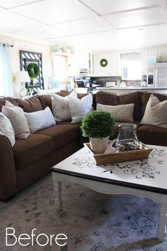 How to make a sectional slipcover