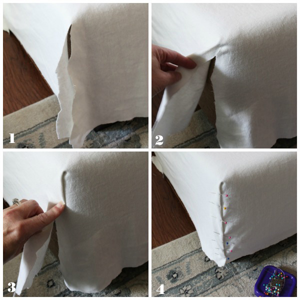 Sewing-corner-seam-on-Sectional