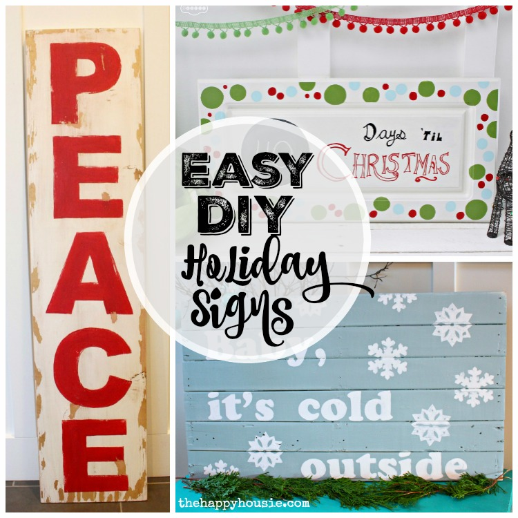 Easy DIY Signs from The Happy Housie