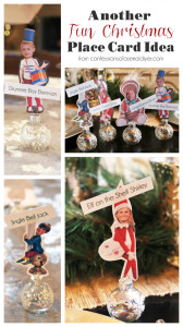 Another FUN Christmas Place Card Idea from Confessionsofaserialdiyer.com