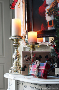 Christmas Entry Table {A Décor Challenge}