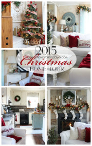 Christmas Home Tour 2015 with Confessions of a Serial Do-it-Yourselfer
