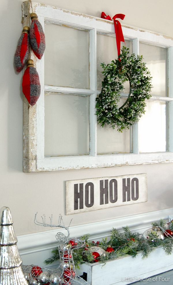 DIY Flannel Christmas Bulbs from Little House of Four