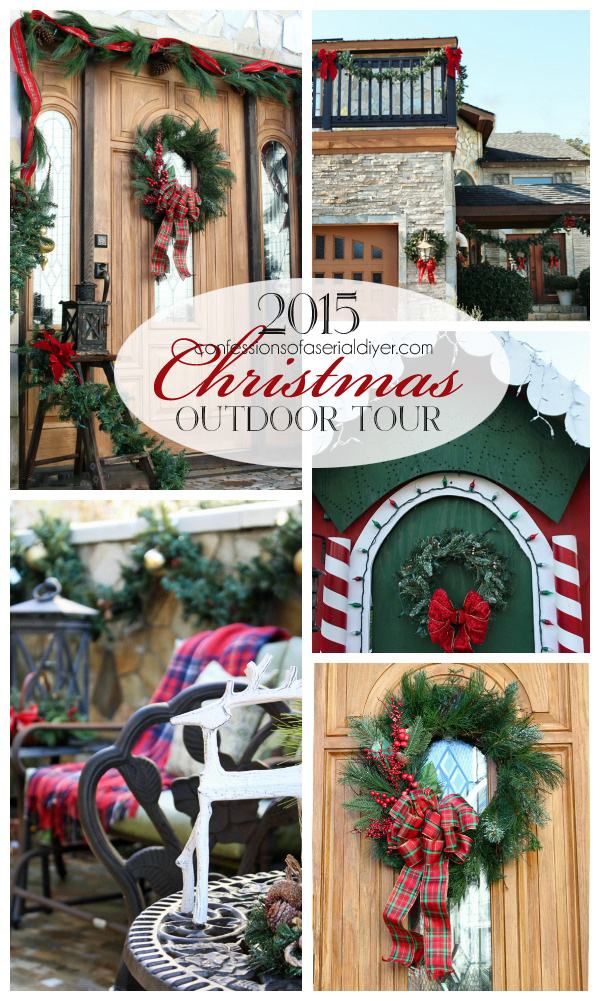 Christmas Outdoor Tour from Confessions of a Serial Do-it-Yourselfer
