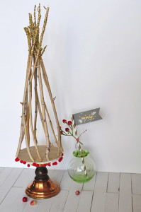 Rustic Christmas Tree from Delineate your Dwelling