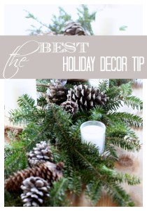Best Holiday Decor Tip from Love of Home
