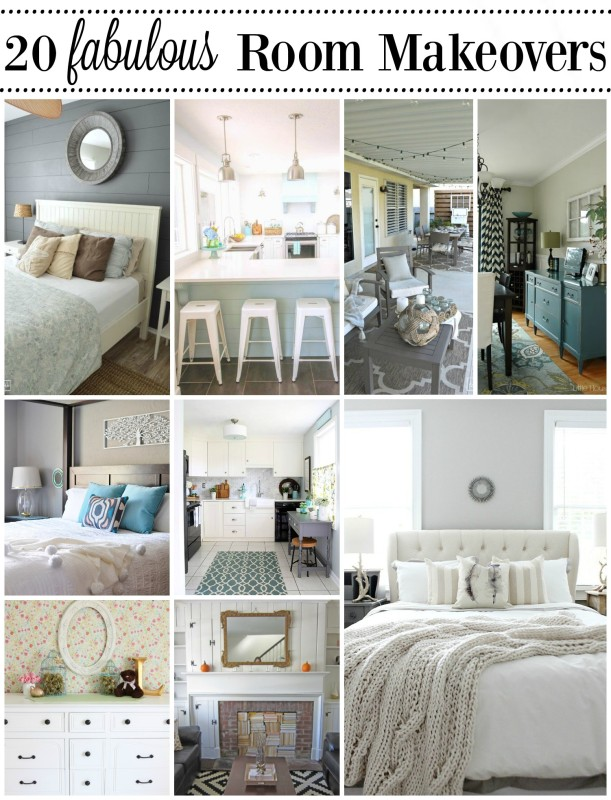 20 Fabulous Room Makeovers Confessions of a Serial Do it Yourselfer