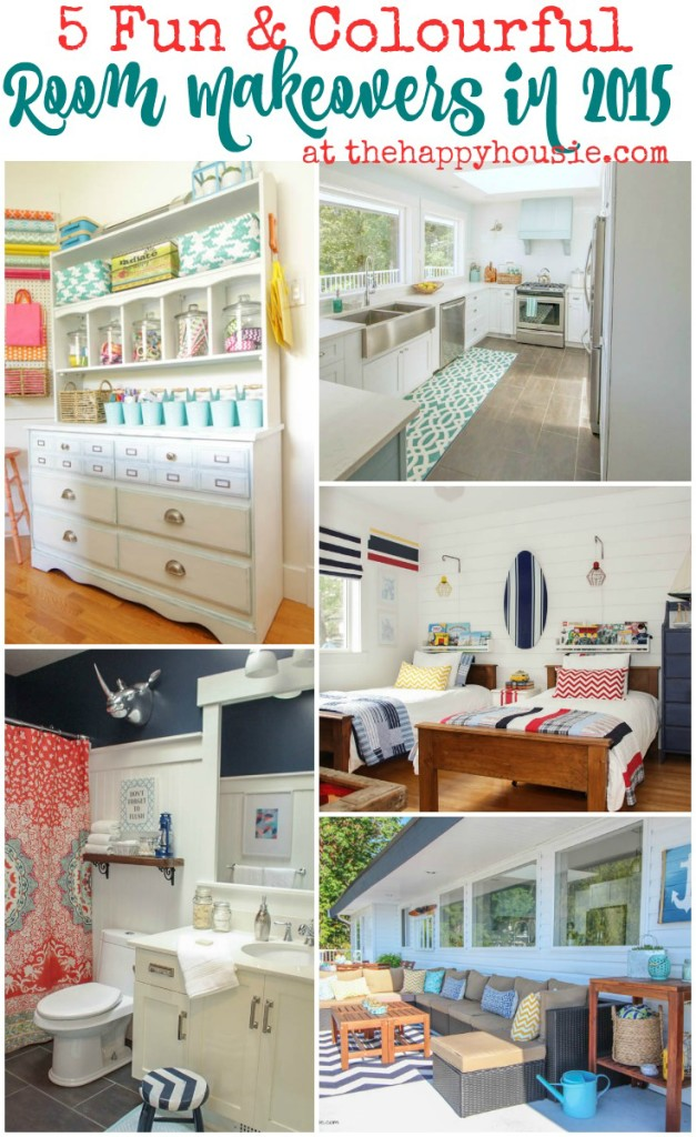 5 Fun and Colourful Rooms by The Happy Housie