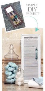 SImple DIY Mini Cabinet from confessionsofaserialdiyer.com