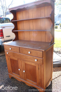 Farmhouse Hutch {Best of the Archives!}