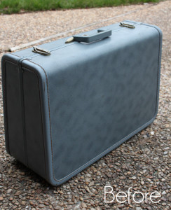 Curbside Suitcase Makeover