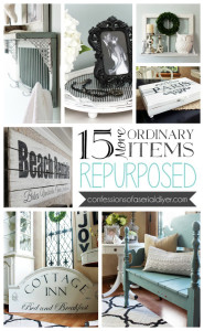 15 More Ordinary Items Repurposed
