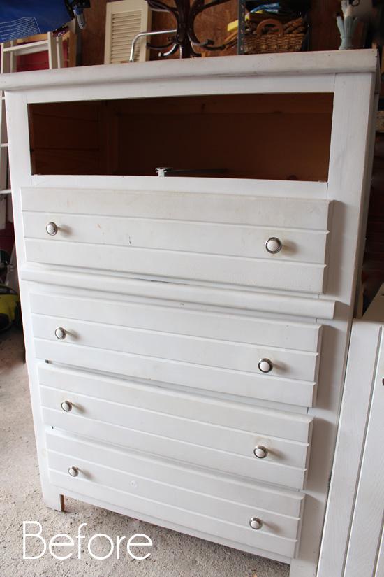 Crabby Dresser before