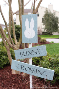 DIY Easter Sign made from old Fence Pickets Confessions of a Serial Do-it-Yourselfer