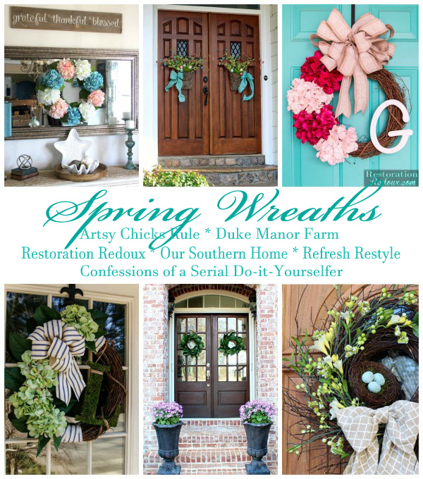 Decor Enthusiast Spring Wreaths