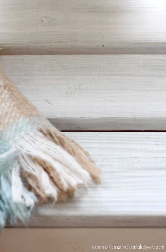Turn a Headboard into a Farmhouse Bench with the addition of a little reclaimed wood. Confessions of a Serial Do-it-Yourselfer