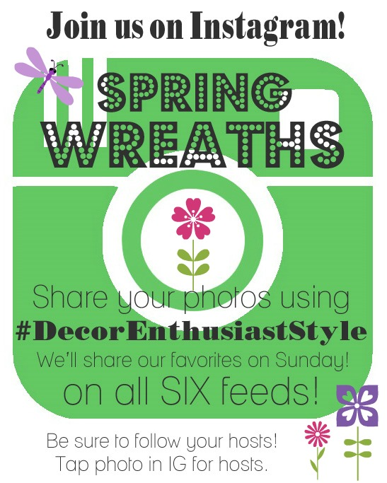 Instagram-Decor-Enthusiast-Spring-Wreaths Graphic