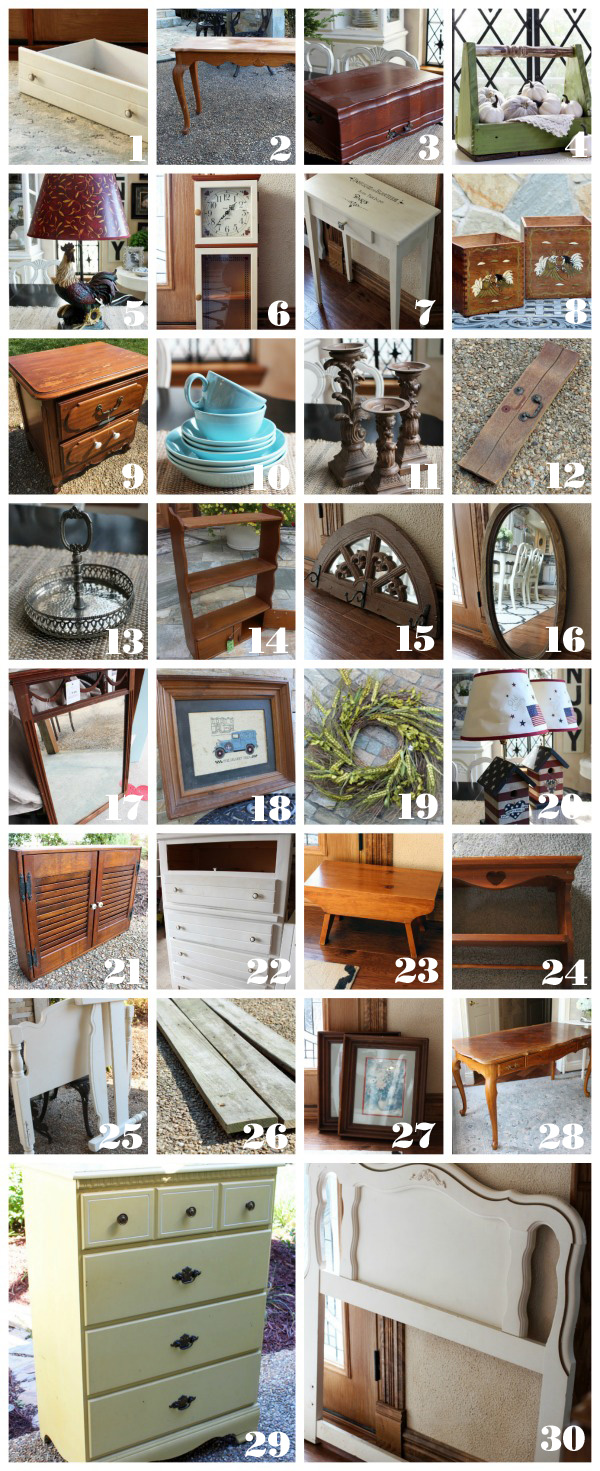 March Madness, 31 Thrifty Makeovers in 31 Days from Confession of a Serial Do-it-Yourselfer