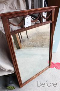 Antique Mirror Before
