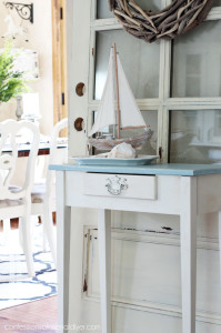 15 Minute Table Makeover