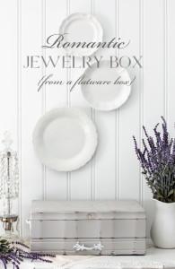 Romantic Flatware Box Makeover