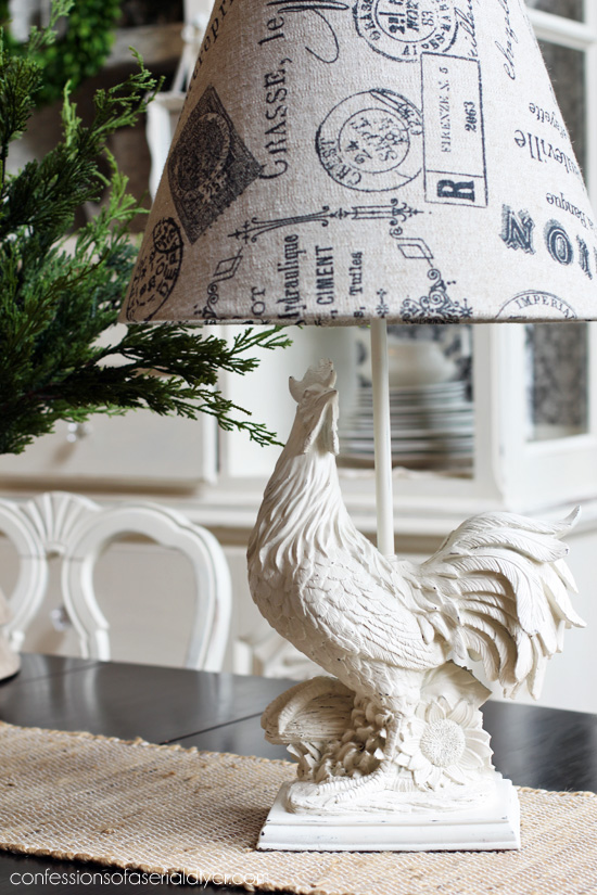 How to recover a lampshade from Confessions of a Serial Do-it-Yourselfer