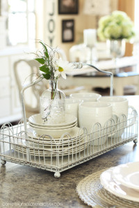 5 Ways to Add Farmhouse Charm to the Kitchen {and a Thrifty Makeover too!}