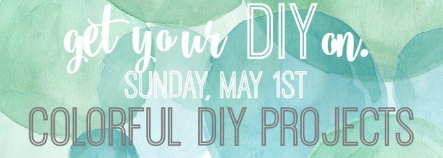 Get your DIY on Colorful DIY Projects poster.