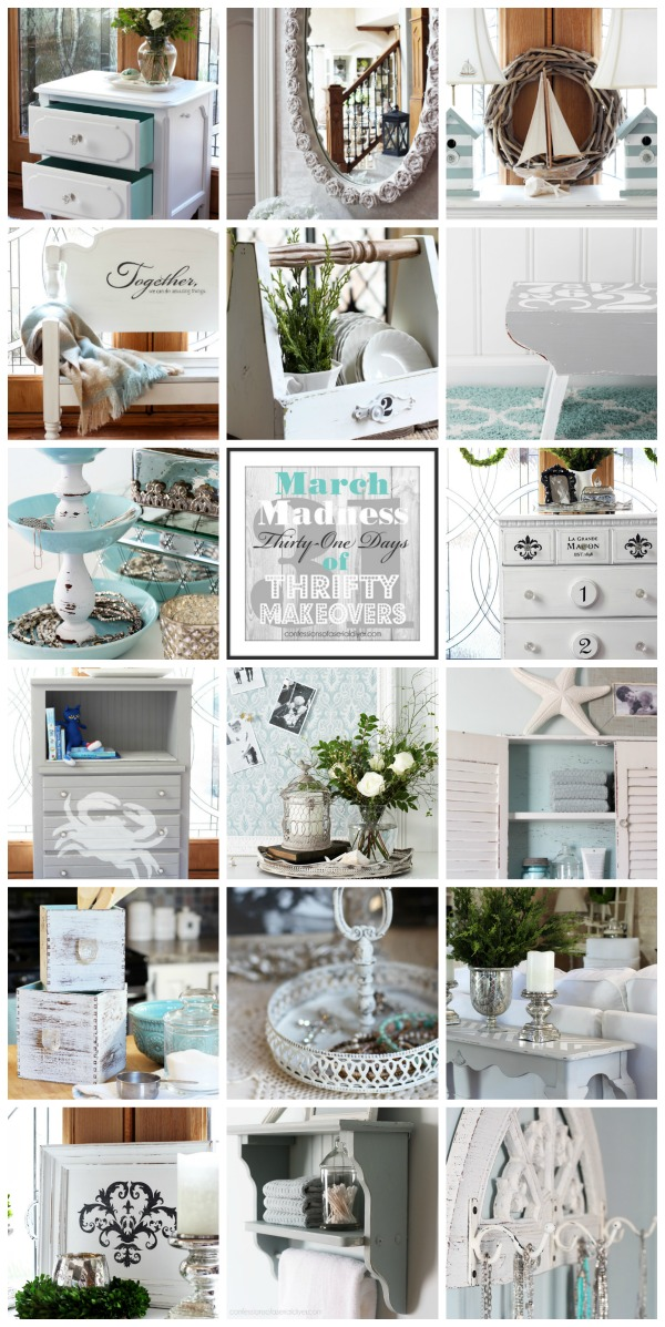 March Madness 2016 {31 Thrifty Makeovers in 31 Days} Confessions of a Serial Do-it-Yourselfer