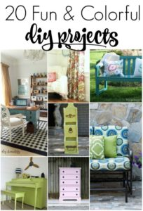 20 Fun and Colorful DIY Projects