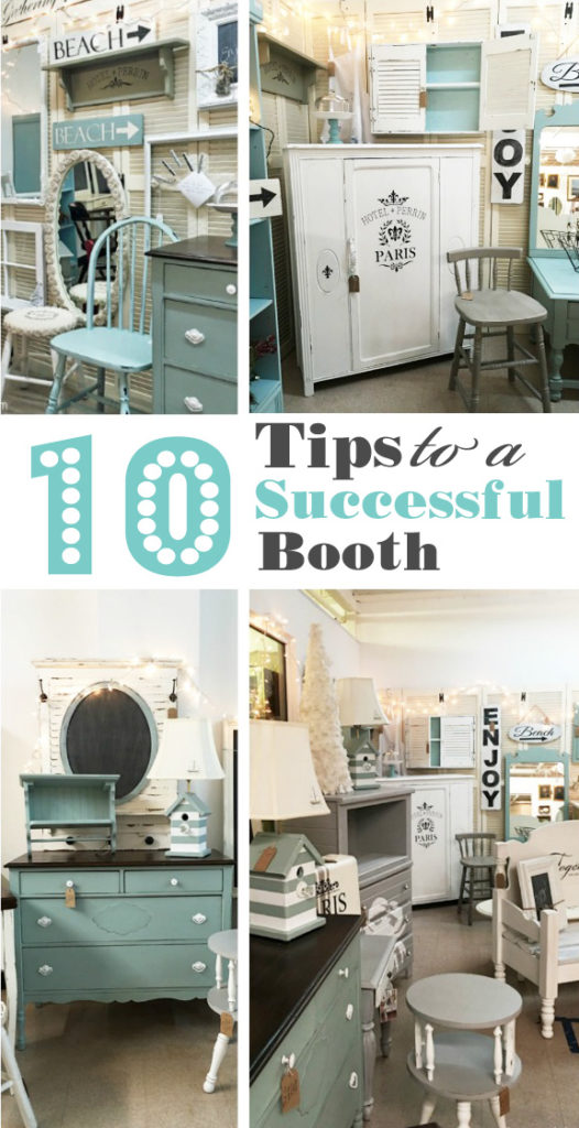 10 tips to a successful booth confessions of a serial do for Craft supply trade shows