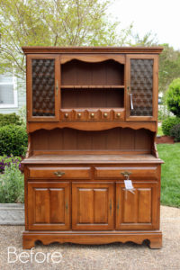 Dated Hutch Makeover