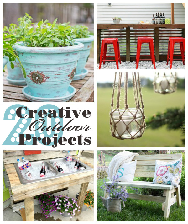 20 Creative Outdoor Projects Confessions
