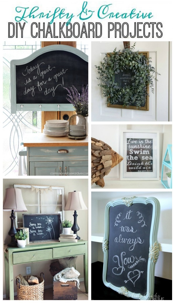 DIY Chalkboard Projects