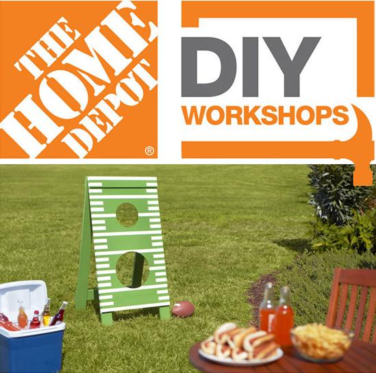 Home Depot DIY Workshops