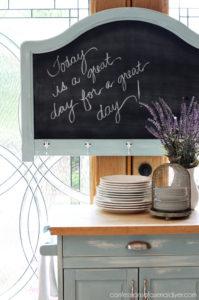 Headboard to Chalkboard