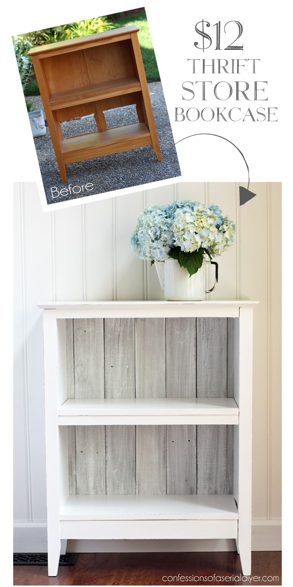 a how to build reclaimed bookshelf wood diy