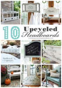 10 Upcycled Headboards