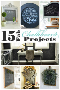 15 Fabulous Chalkboard Projects