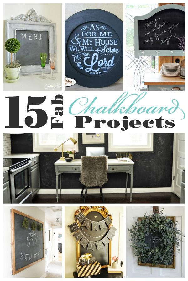 15 Fabulous Chalkboard Projects