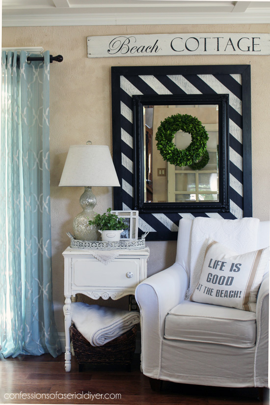 Decorating with Thrifty Finds from Confessions of a Serial Do-it-Yourselfer