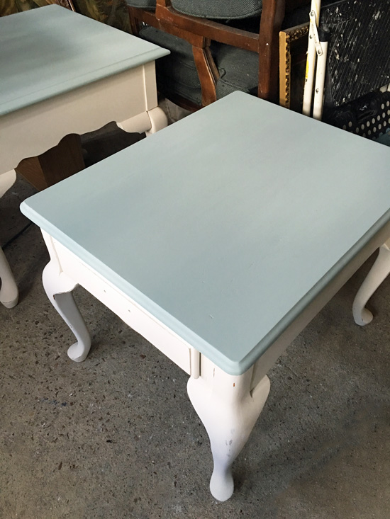 Duck-Egg-Blue-and-Cottage-White-End-Table-During-1