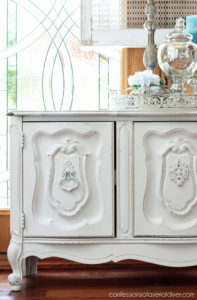 Buffet makeover, a $5 yard sale score! Confessions of a Serial Do-it-Yourselfer
