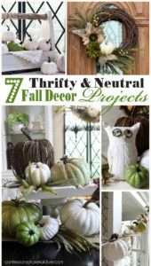 7 Thrifty Neutral Fall Décor Projects