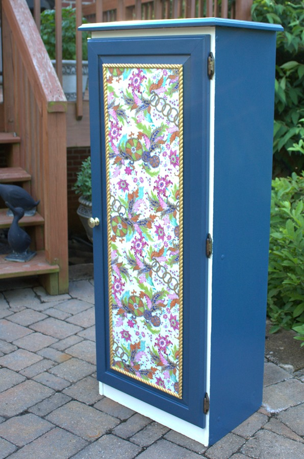Storage Cabinet Makeover from Sweet Pea