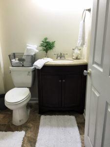 Habitat for Humanity House Bathroom Reveal