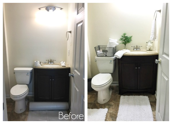 Habitat for Humanity House Bathroom Reveal