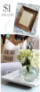 How to make a white-washed reclaimed wood tray from an old tray and discarded fence pickets.